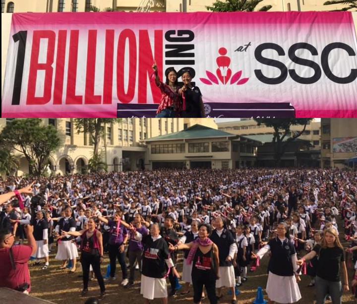«Un milliard débout», 2019 : Pour passer d'une 'Campagne pour mettre fin à la violence contre les femmes' vers 'Un mode de vie'