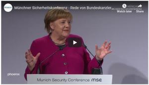 #ViernesParaElFuturo: Carta abierta a la canciller Angela Merkel