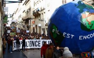 [Video] Marcha por el Cambio Climático en Burdeos