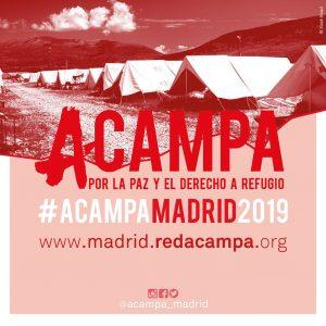 El movimiento «Acampa por la paz y el derecho a refugio» llega a Madrid