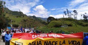 Ecuador: El gobierno de Lenín intenta frenar la consulta de Kimsakocha
