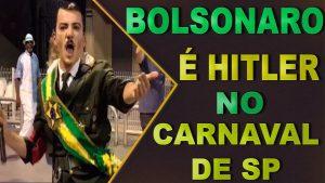 Críticas a Bolsonaro tiñen el carnaval de Brasil