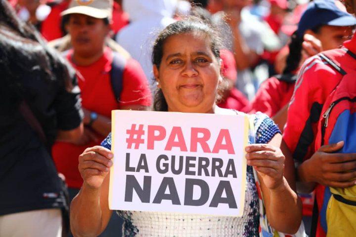 [Venezuela] Pour la guerre, rien