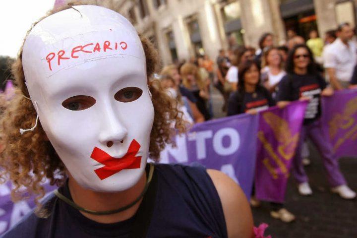 Istat: En Italia, se trabaja cada vez menos y con mayor precariedad