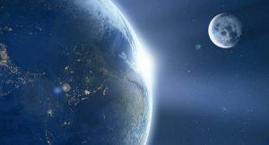 Astrónomos descubren que la atmósfera de la Tierra se extiende más allá de la Luna