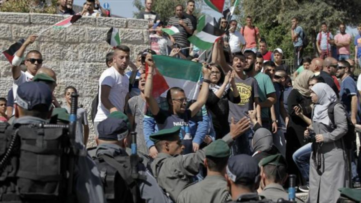 Fuerzas israelíes matan a 4 palestinos en masiva protesta en Gaza