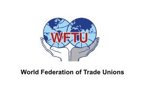 La Federazione sindacale mondiale sullo sciopero dell'8 marzo: «contro ogni forma di disuguaglianza e sfruttamento»