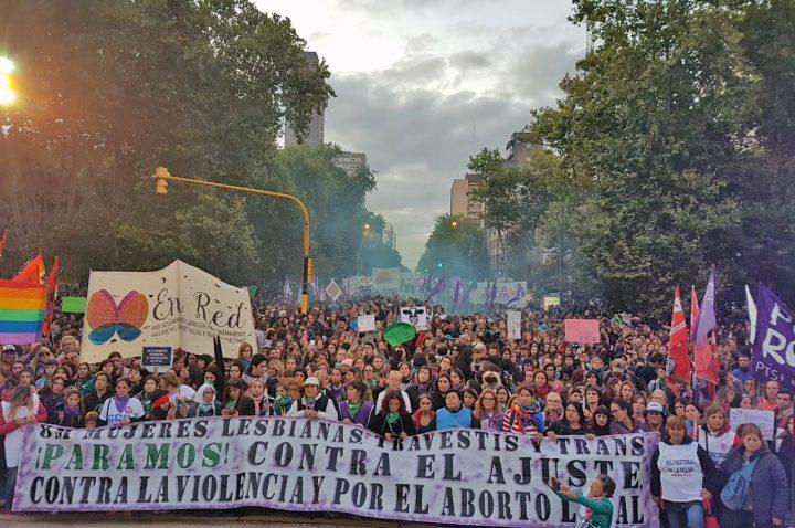 [Reportage photo – 8M – Mar del Plata, Argentine] Maintenant que l'on nous voit