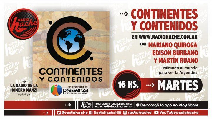 Continentes y contenidos (VI Temporada) 19-03-2019
