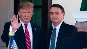 Trump y Bolsonaro, un solo corazón