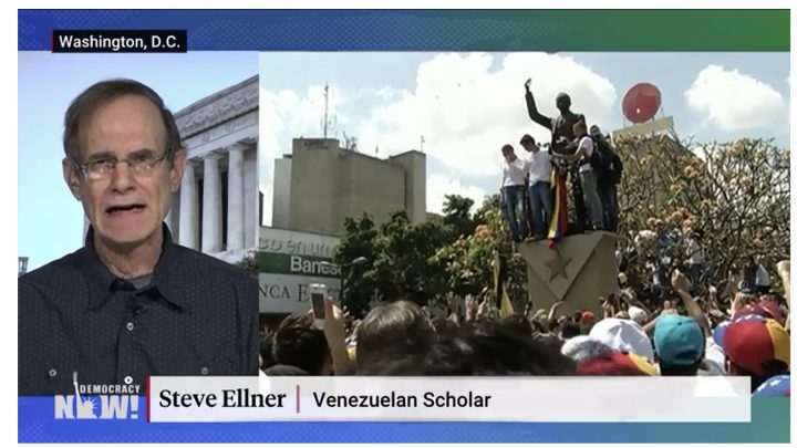 """Historian: Venezuela Is """"Staging Ground"""" for U.S. to Reassert Control Over Latin America"""