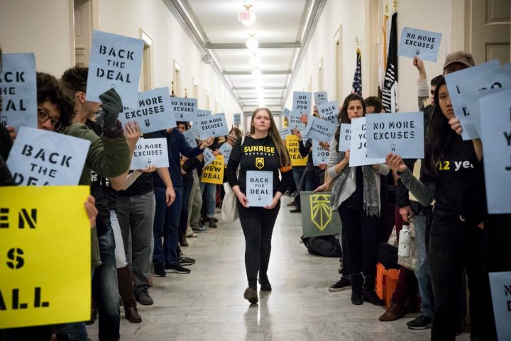 How young activists turned the old idea of a Green New Deal into a powerful movement
