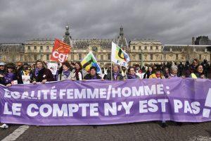 Gilets Jaunes Acte XVII : Les Femmes se joignent en nombre à la manifestation parisienne