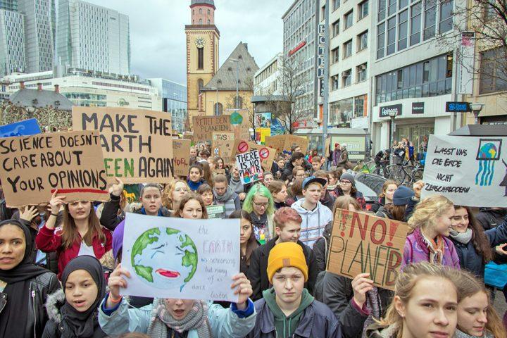 É hora de levar estudantes em greve pelo clima a sério