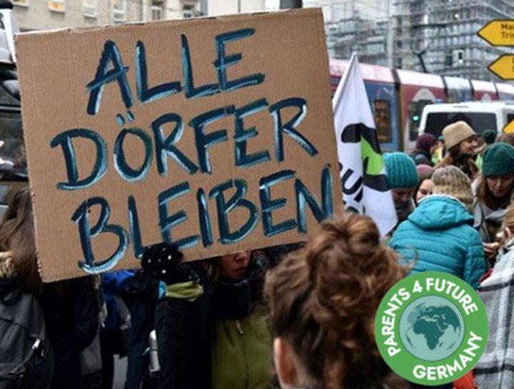 Parents for Future kritisieren Räumungen im Hambacher Wald