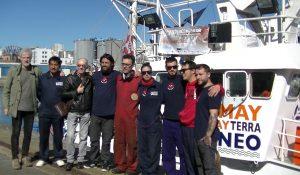 Entrevista al capitán del barco de rescate «Aita Mari»
