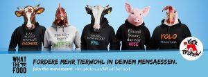 """Neue Kampagne """"What the Food"""" nimmt österreichische Uni- und Fachhochschulmensen unter die Lupe"""