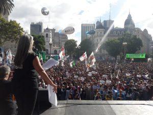 Tantissima gente in Argentina per la giornata della Memoria, della Verità e della Giustizia