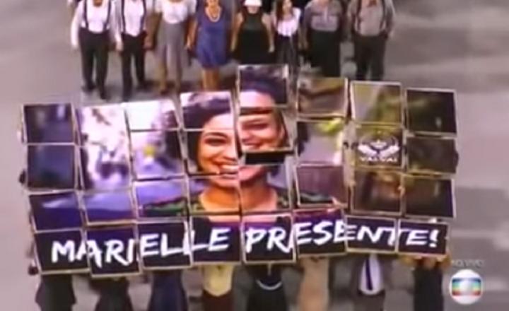 Carnaval politizado en Brasil