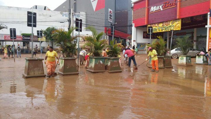 Chuva coloca São Paulo em estado de atenção para alagamentos