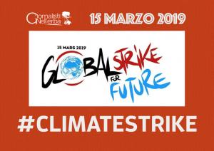 Migliaia di Giornalisti nell'Erba per il #Climatestrike del 15 marzo