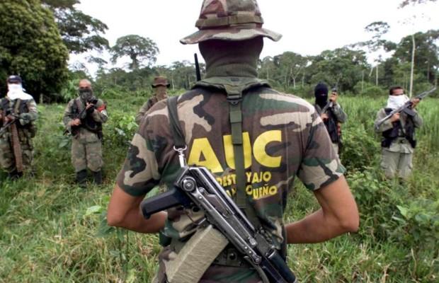 Paramilitares de nuevo en acción en Colombia