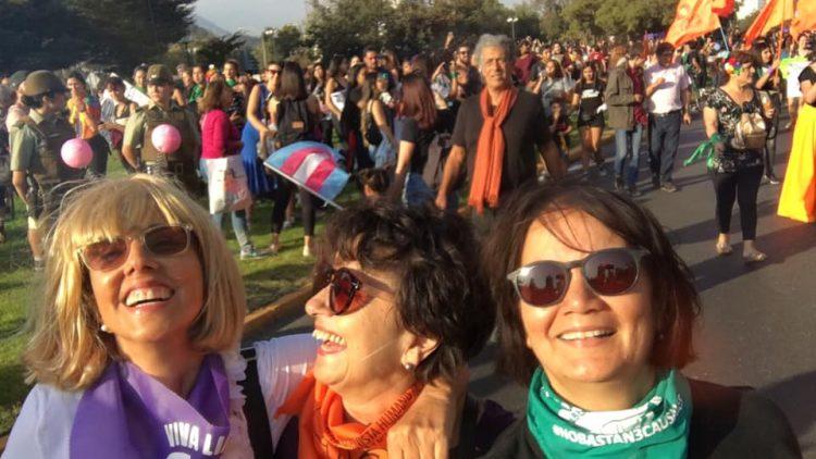con Juanita y Mena