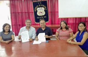 COPEHU firma nuevo convenio para construir la paz y la noviolencia en colegio público del Callao