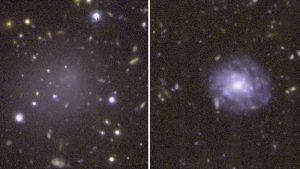 Descubren una galaxia que podría ser un «fósil viviente» desde el inicio del universo