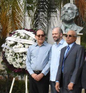 Homenaje a Eugenio María de Hostos a 180 años de su natalicio