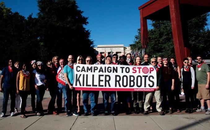 Impedir la legalización de las armas letales autónomas