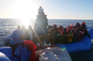 Mare Jonio salvó a 49 personas de un naufragio: ahora que Italia nos muestre un refugio seguro