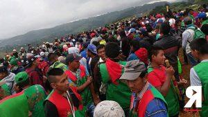 «No nos vamos a dejar robar la paz»: Retratos de la movilización nacional indígena