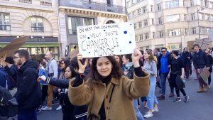 [Reportage photo] 3ème journée des jeunes pour le climat : « On n'est pas idéaliste, on veut juste changer le monde »