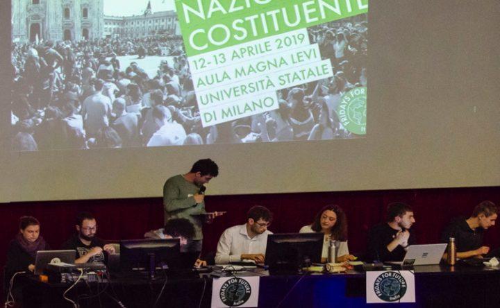 Assemblea costituente FFF: una nuova sensibilità prende forma