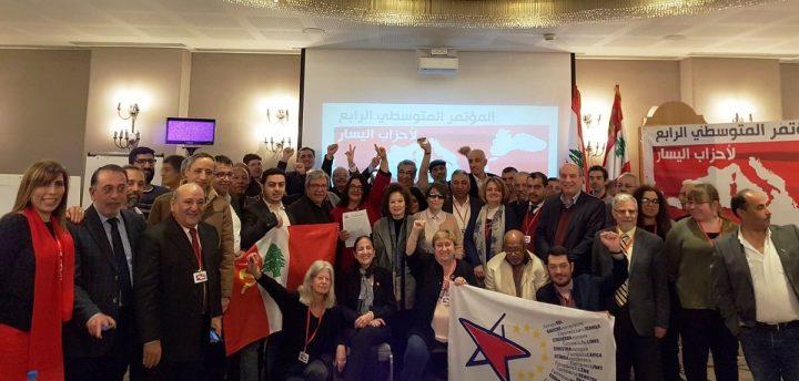 Beirut: IV Conferenza Mediterranea della Sinistra Europea