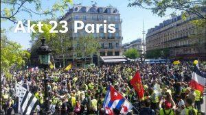 Gelbwesten-Proteste Akt 23 – Repression gegen Sanität und Journalisten