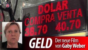 Dokumentarfilm von Gaby Weber über den Schmierstoff des Kapitalismus – Geld