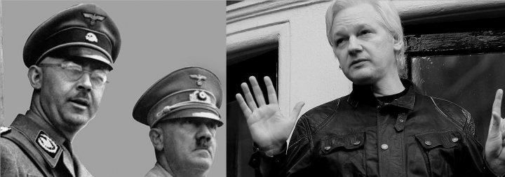 The Gestapo Is Coming for Julian Assange