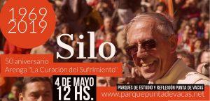 Retransmisión de la ceremonia del cincuentenario de la arenga de Silo en Punta de Vacas