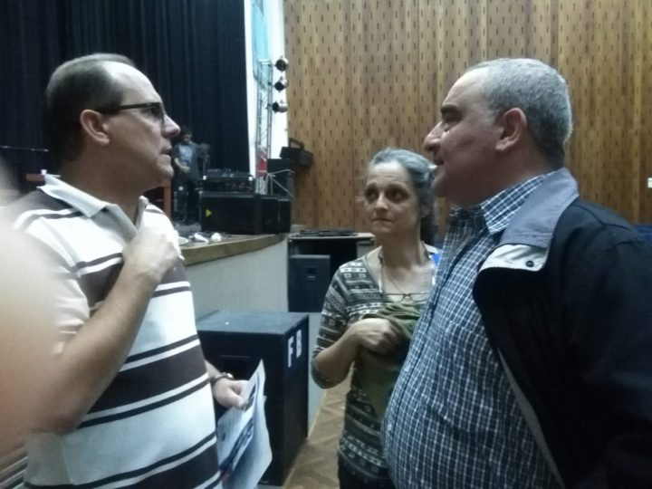Javier Embajador Cuba Orestes Perez