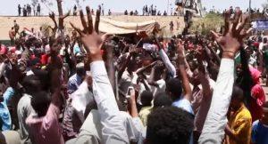 Insurrezione in Sudan – Marce pubbliche attraverso Sudan, Darfur, Nilo Bianco