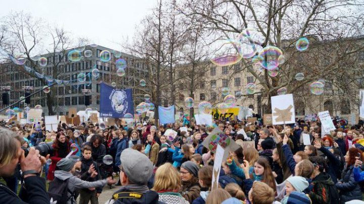 World's Youth Blow Bubbles For the Earth; While Voters Say No To Carbon Tax & Life