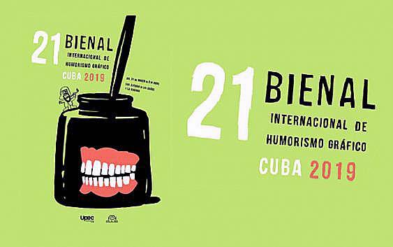 XXI Bienal internacional de Humorismo gráfico en Cuba: «Hacer el humor, no la guerra».