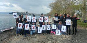 Flash Mob per l'agricoltura sostenibile a Capodimonte (Bolsena)