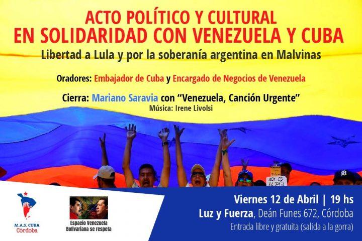 flyer acto solidaridad