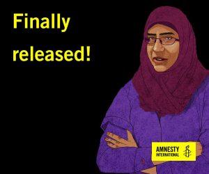 Egipto, liberado tras dos años como líder del movimiento de familiares de desaparecidos
