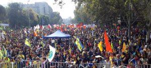 Chile: Marcha No+AFP 10 mil personas contra el robo sin fin y la miseria previsional