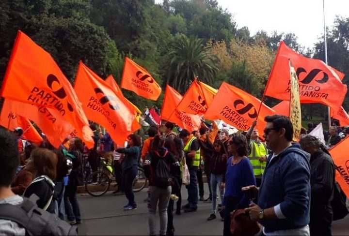 Il Partito Umanista del Cile contro il golpe venezuelano