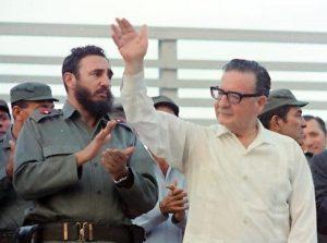 Hommage aux 60 ans de la révolution cubaine et aux 45 ans du coup d'État au Chili